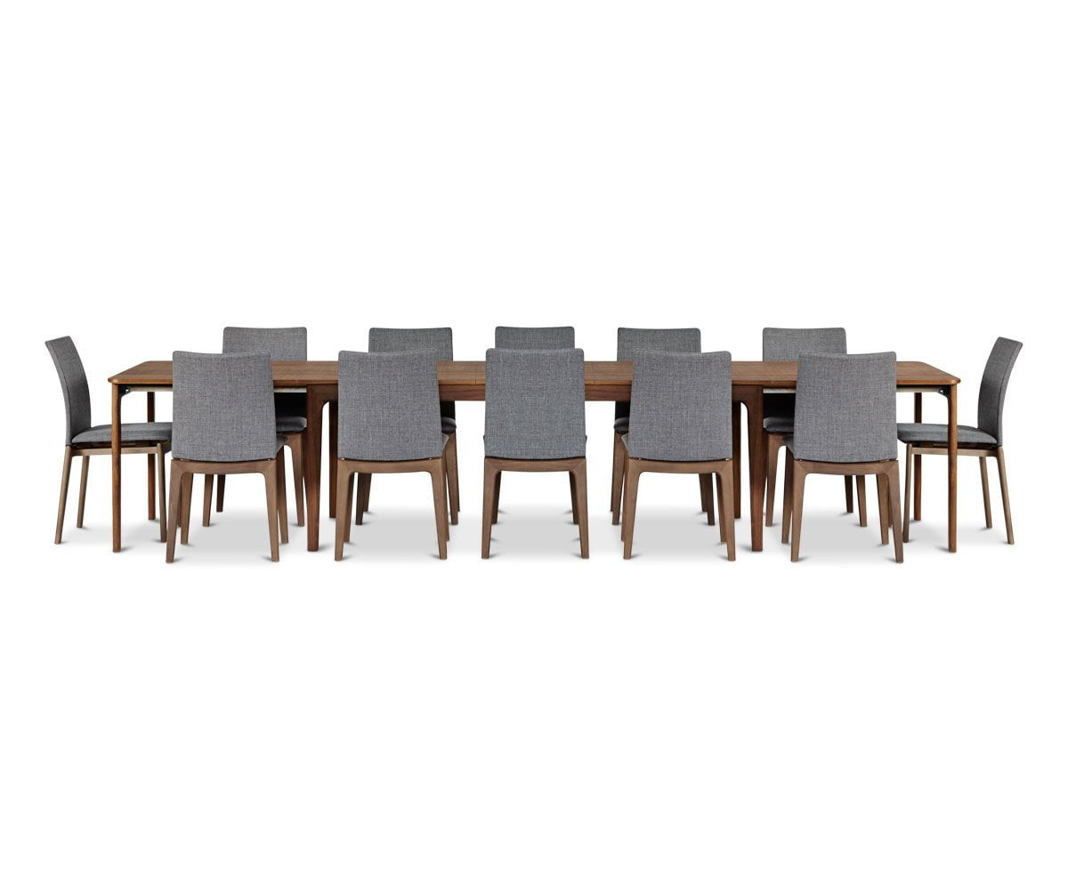Sundby Extension Table Extra Leaves (Set of 3) Oiled Walnut - Scandinavian Designs