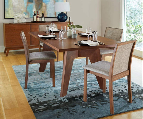 Randers Rectangular Extension Table - Walnut WALNUT - Scandinavian Designs