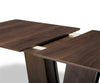 Thisted Extension Dining Table Walnut Lacquer - Scandinavian Designs