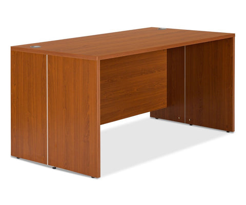 "Network Plus 59""W Desk - Cherry - Scandinavian Designs"