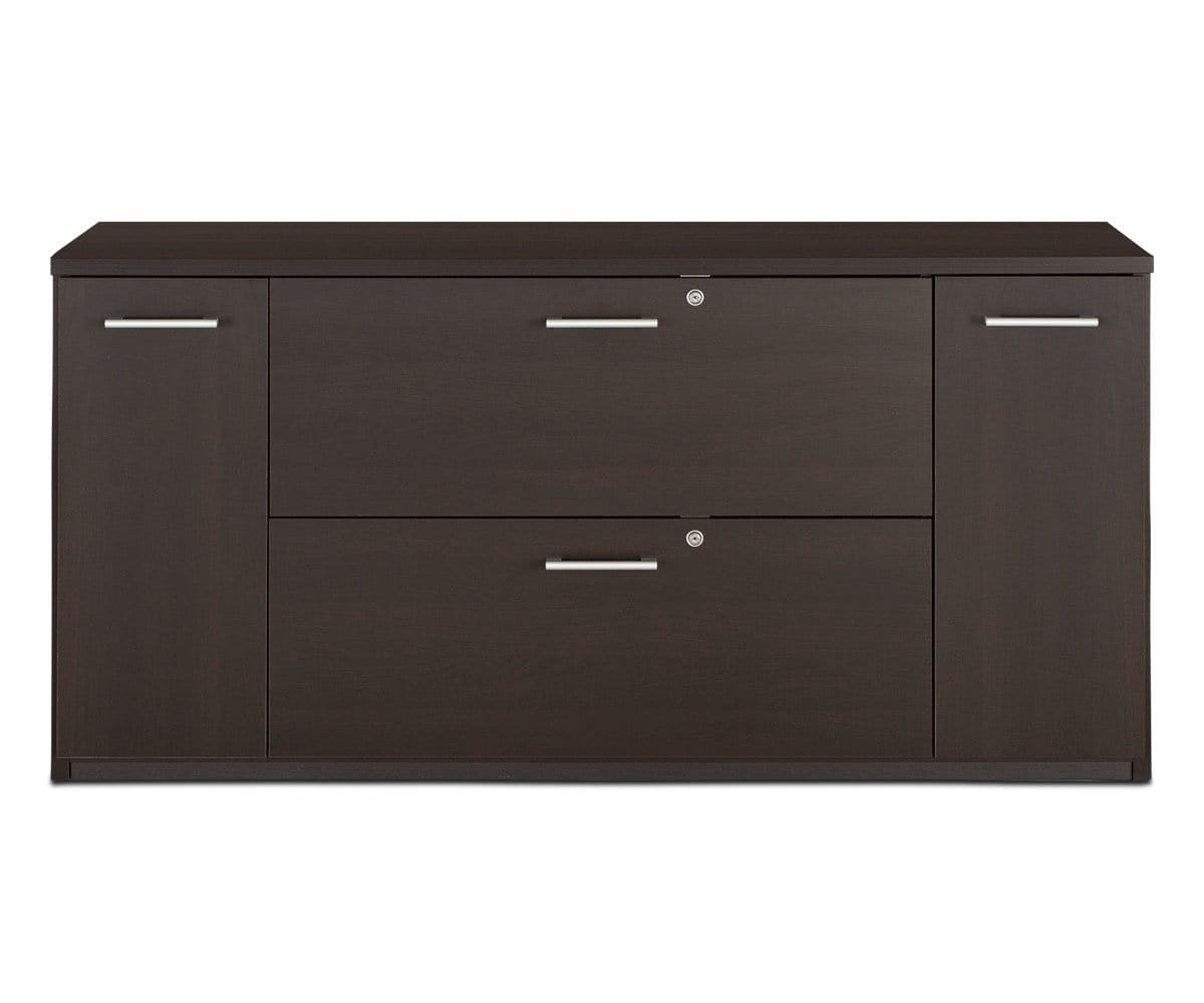 Network Plus Credenza - Venge NETWORK VENGE - Scandinavian Designs