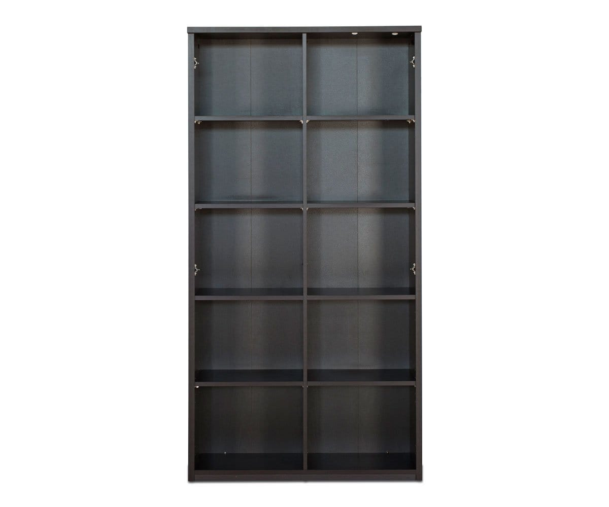 "Network Plus 71.25"" Bookcase NETWORK VENGE - Scandinavian Designs"