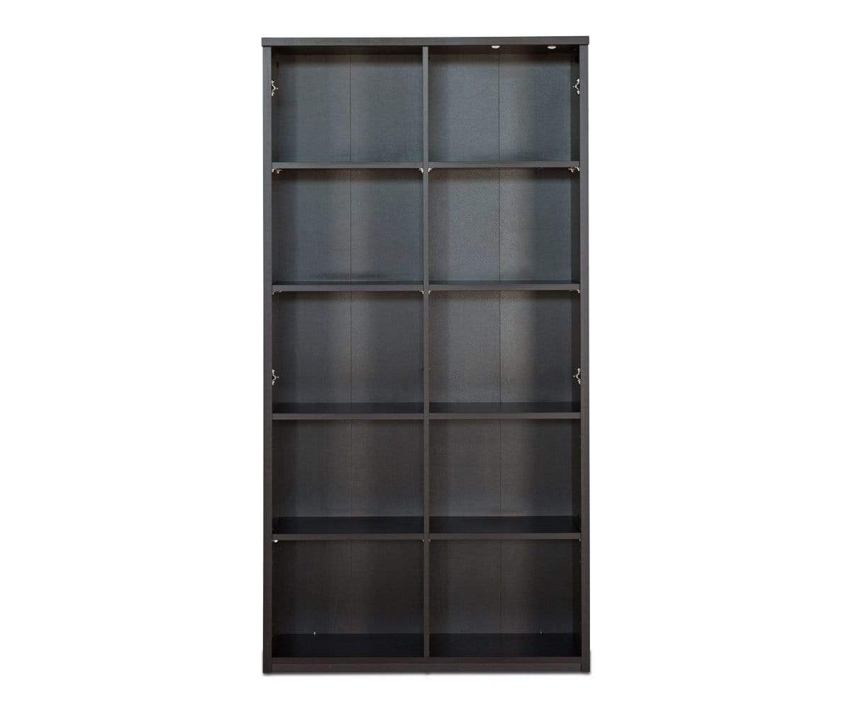 "Network Plus 71.25"" Bookcase - Scandinavian Designs"