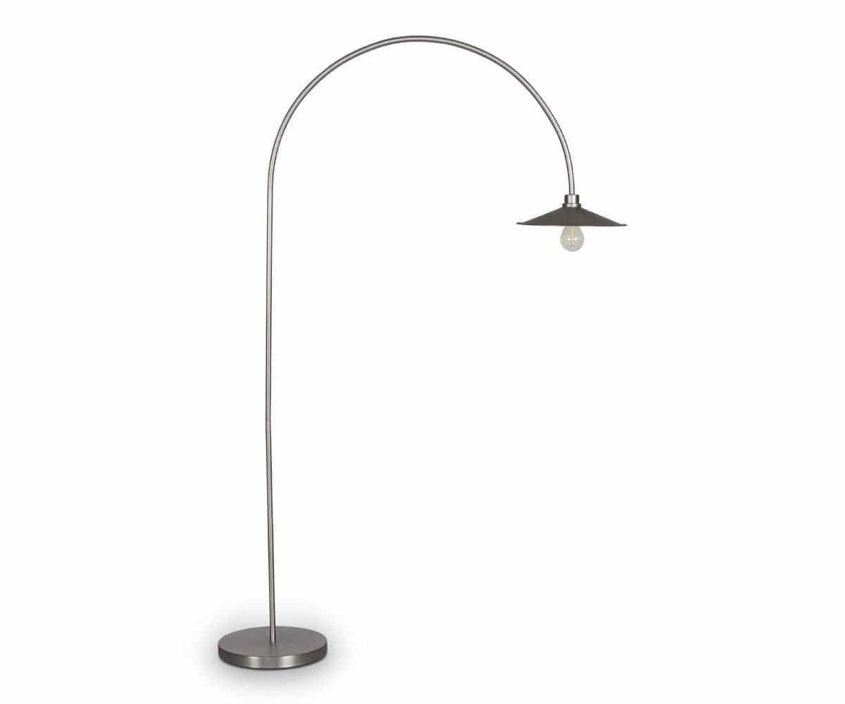 Skal arch floor lamp nickel scandinavian designs skal arch floor lamp nickel aloadofball Image collections