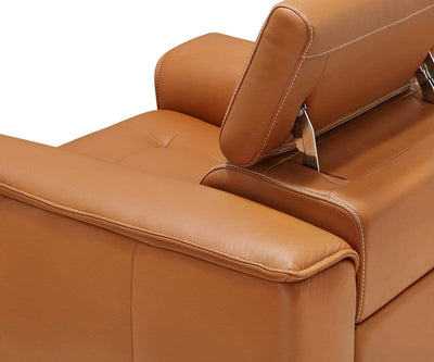 Kopervik Power Recliner Cognac Z76/51 - Scandinavian Designs