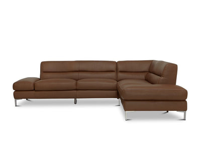 Campsis Leather Right Sectional Sienna Z76/52 - Scandinavian Designs