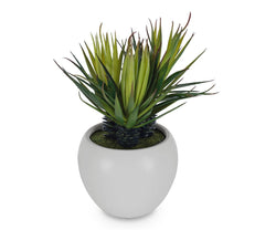 Small Potted Faux Palm - Scandinavian Designs