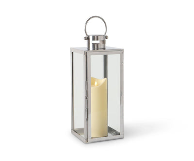 Lagom Lantern - Small Polished Stainless Steel - Scandinavian Designs