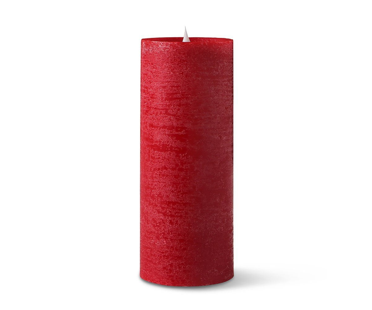 Lys Flameless Candle, Set of 3 - Red Lys Red - Scandinavian Designs