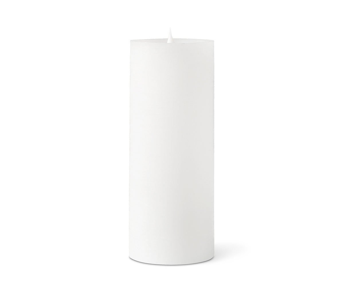 Lys Flameless Candle - White Lys White / Large - Scandinavian Designs