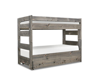 Brennan Twin Trundle Grey Driftwood - Scandinavian Designs