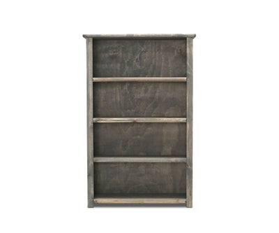 Brennan Bookcase Grey Driftwood - Scandinavian Designs