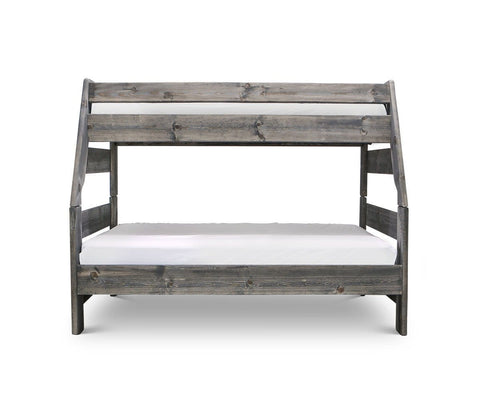 Brennan Twin-Over-Full Bunk Bed Grey Driftwood / Twin/Full - Scandinavian Designs