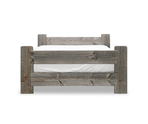 Brennan Full Bed Grey Driftwood / Full - Scandinavian Designs