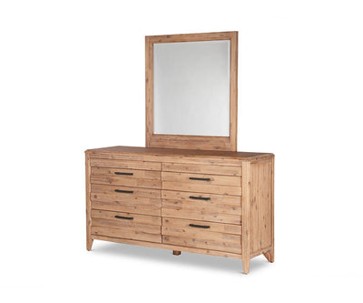 Campbell Double Dresser Weathered Acacia - Scandinavian Designs