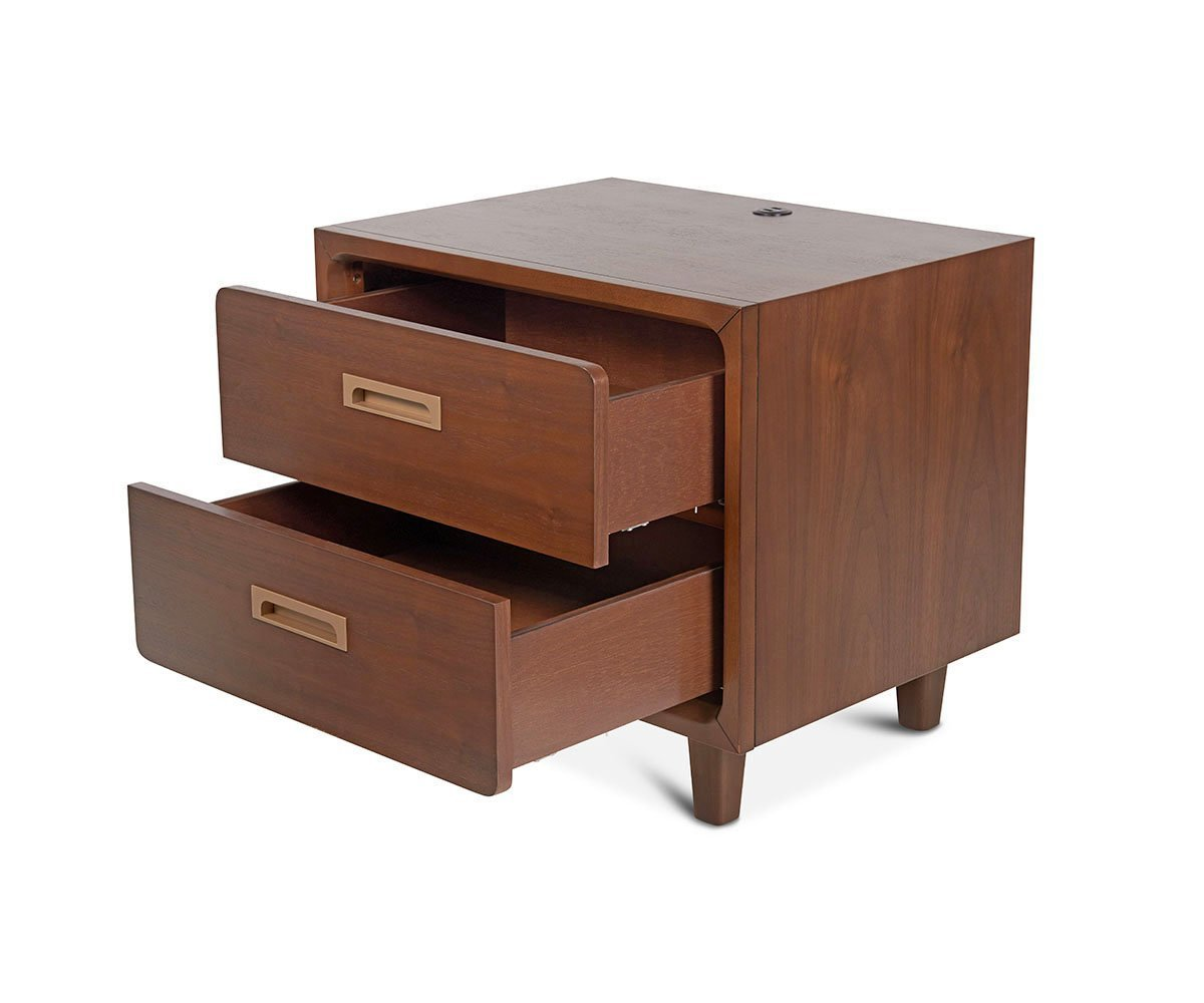 Bryant Nightstand Bark - Scandinavian Designs