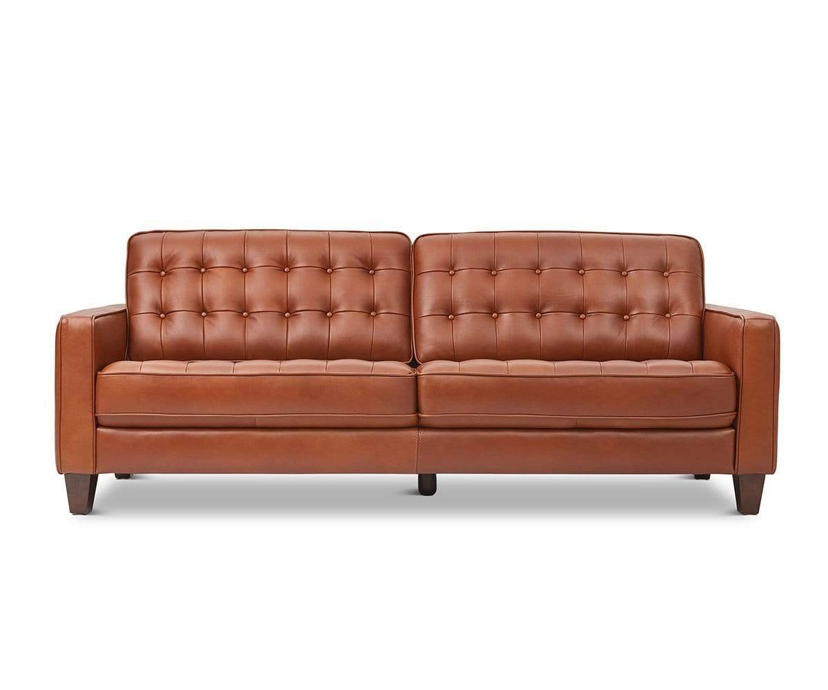 Surprising Gustav Leather Sofa Dailytribune Chair Design For Home Dailytribuneorg