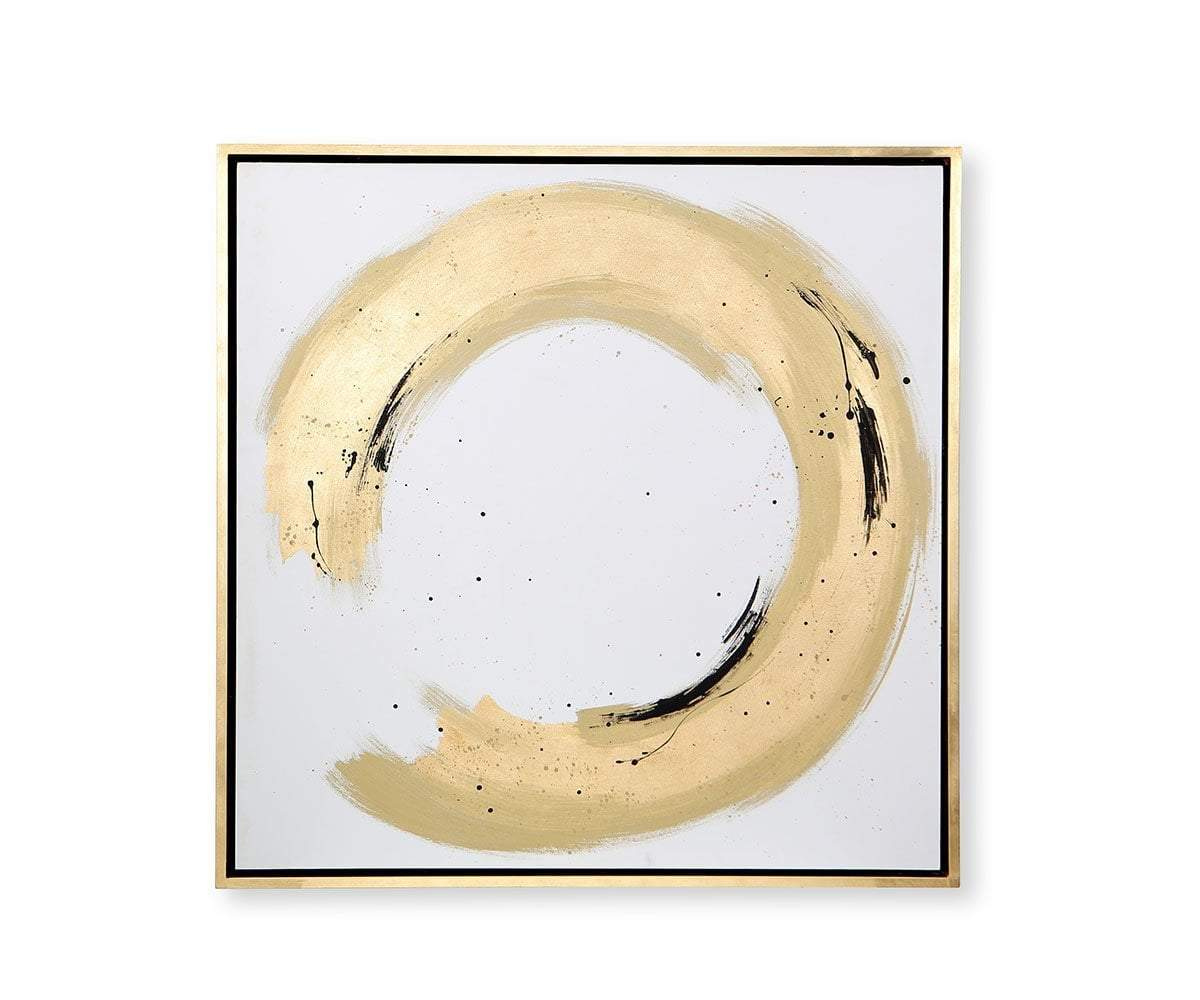 Open Duo Wall Art Gold/Multi - Scandinavian Designs