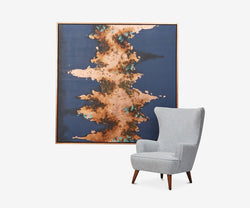 Escalating Bronze Wall Art - Scandinavian Designs