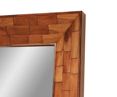 Arlo Mirror Brown/Multi - Scandinavian Designs
