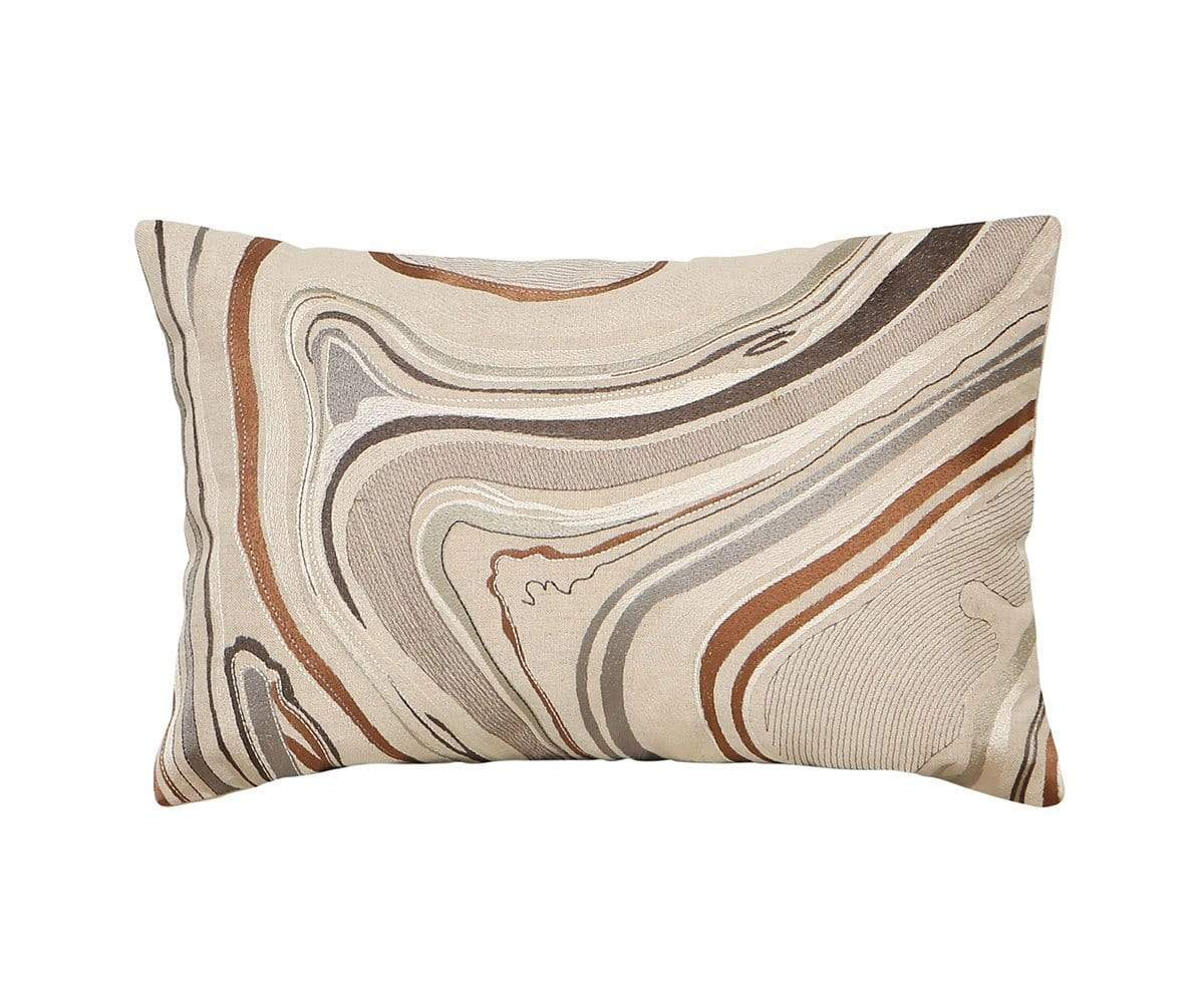 "Amot 18"" x 12"" Pillow Cover Beige/Multi - Scandinavian Designs"