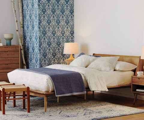 Bolig Bed NATURAL DRIFTWOOD / QUEEN - Scandinavian Designs