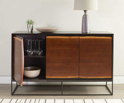 Hasse Sideboard TIMBER BROWN - Scandinavian Designs