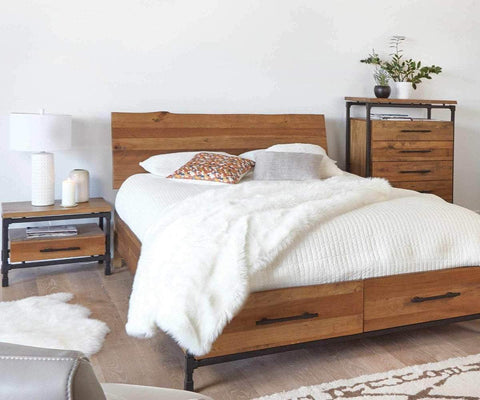 Karsten Storage Bed - Scandinavian Designs
