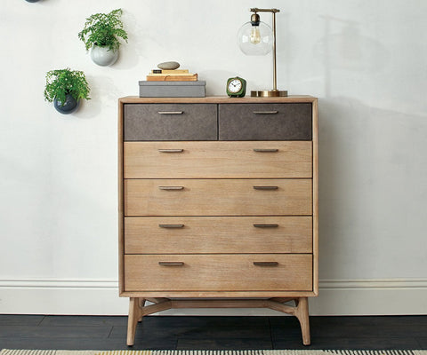 Owen High Chest - Scandinavian Designs