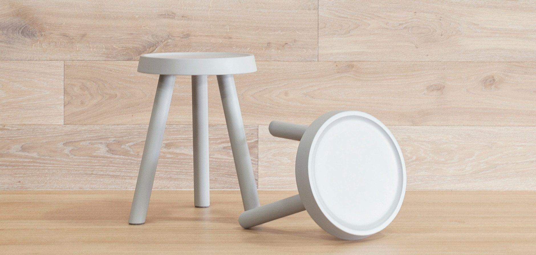 "Roto Stool 16"" - Scandinavian Designs"