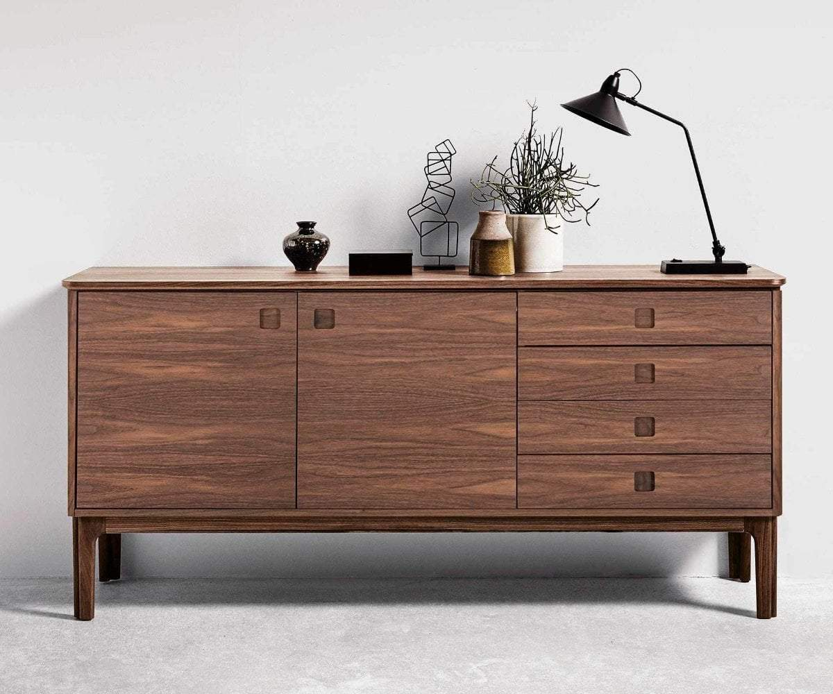 Sundby Sideboard OILED WALNUT - Scandinavian Designs