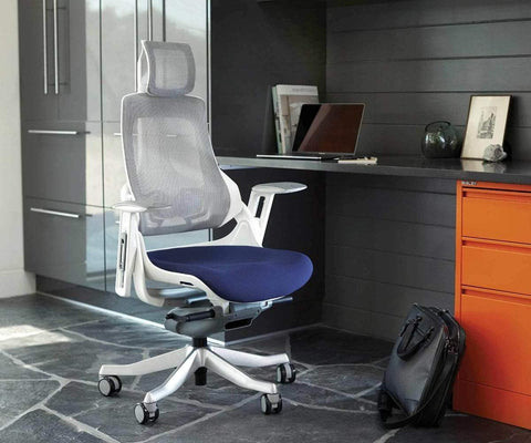 Wau Desk Chair - Blue Wau Blue - Scandinavian Designs