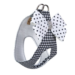 Polka Dot Nouveau Bow Step In Harness