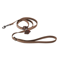 Glen Houndstooth Nouveau Bow Leash