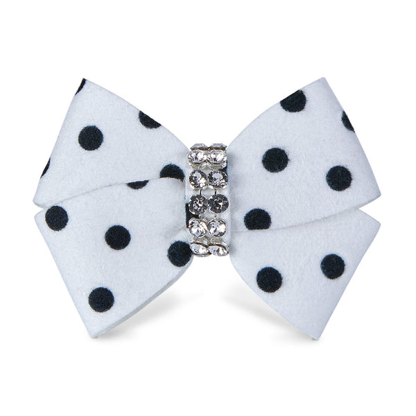 Polka Dot Nouveau Bow Hair Bow