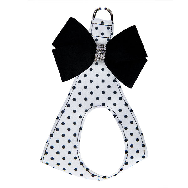 Black Nouveau Bow Step in Harness