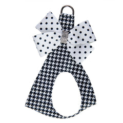 Houndstooth Polka Dot Nouveau Bow Step In