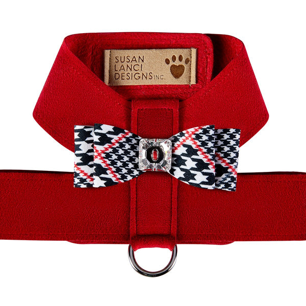 Glen Houndstooth Big Bow Tinkie Harness