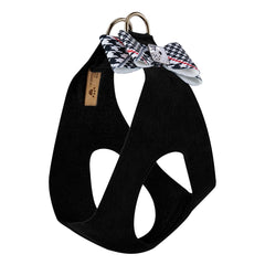 Glen Houndstooth Big Bow Step In Harness