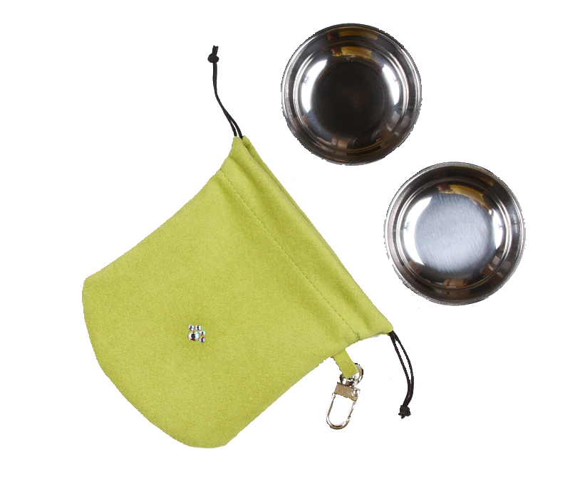 Lime Travel Pouch