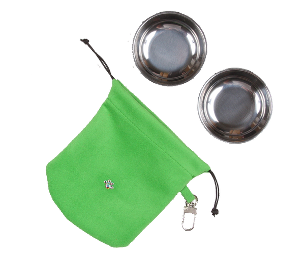 Green Travel Pouch