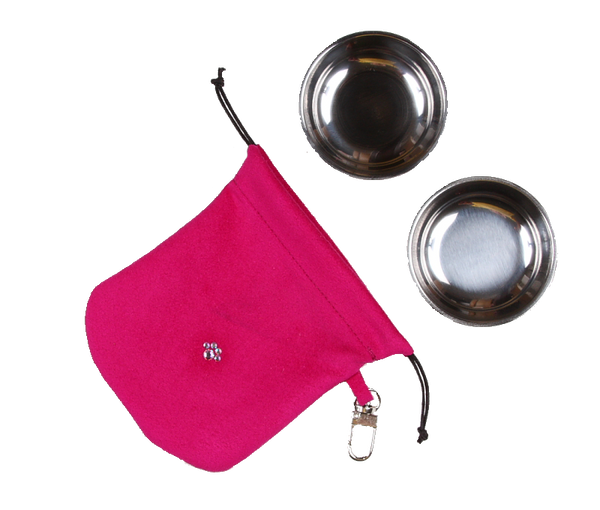 Wine N Roses Travel Pouch