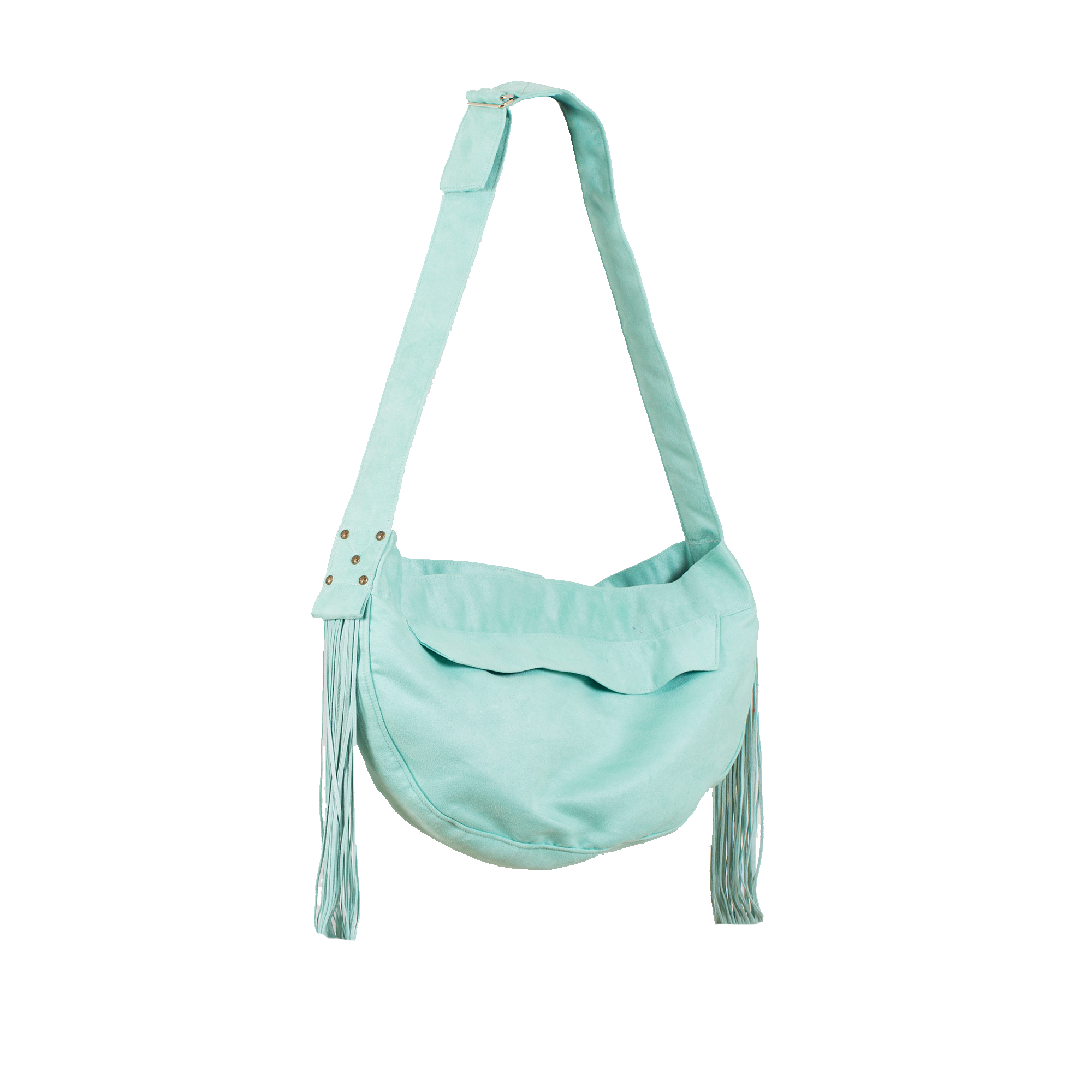 Cuddle Carrier Mint & Fringe