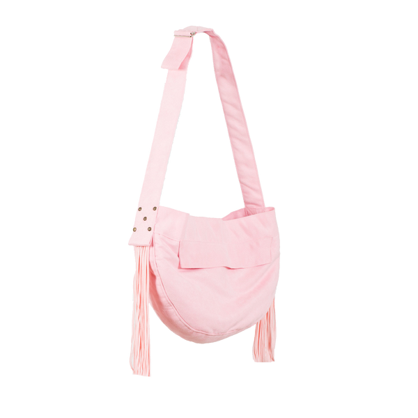 Cuddle Carrier Puppy Pink & Fringe