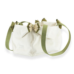 2 Toned Doe & Olive Luxury Carrier