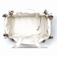 Doe & Fawn Double Nouveau Bow Luxury Carrier