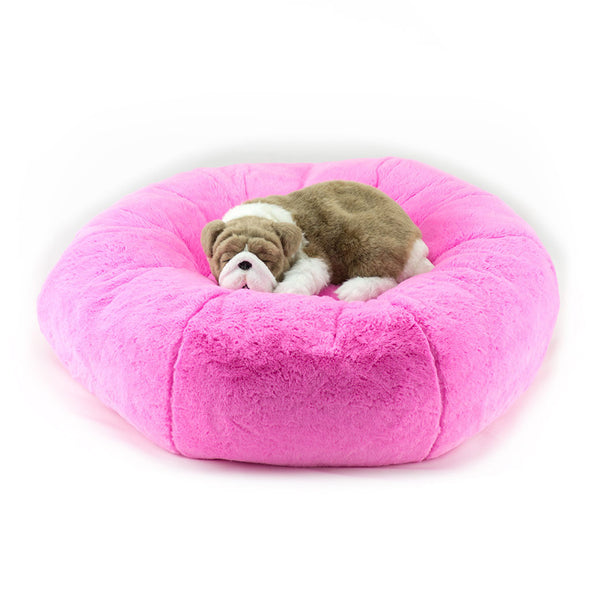Perfect Pink Soft Cuddle Bed