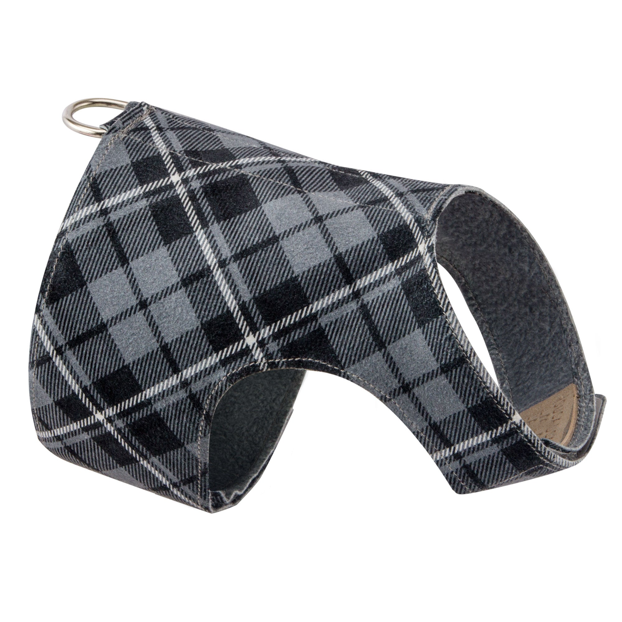 Scotty Bailey Harness Charcoal Plaid