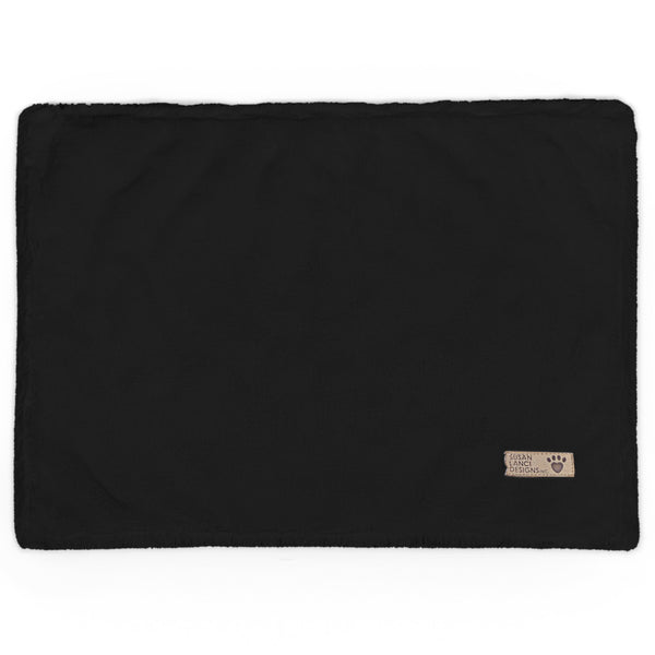 Black Spa Blanket