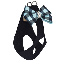Tiffi Gingham Nouveau Bow Step In Harness